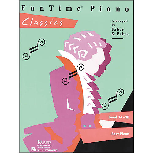 Faber Piano Adventures Funtime Piano Classics Level 3A-3B for Easy Piano - Faber Piano
