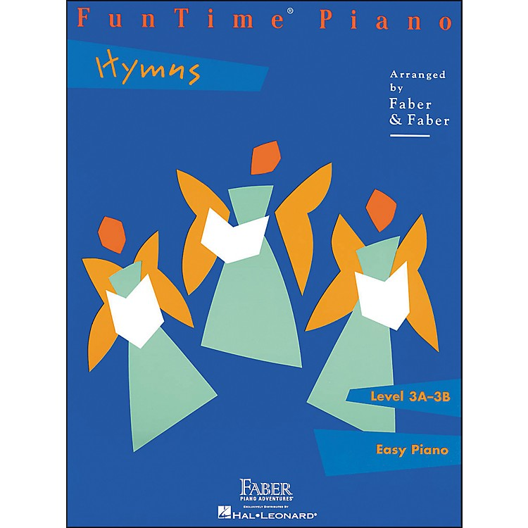 Faber Music Funtime Piano Hymns Level 3A-3B Easy Piano - Faber Piano