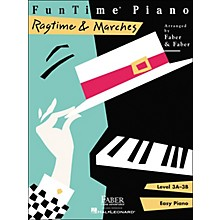 Faber Piano Adventures Funtime Piano Ragtime And Marches Level 3A-3B Easy Piano - Faber Piano