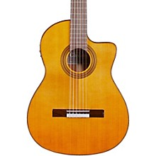 Cordoba Fusion 12 Natural Cedar Classical Electric Guitar Natural Cedar Top