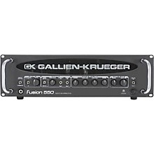 Open Box Gallien-Krueger Fusion 550 Hybrid Valve Bass Amplifier