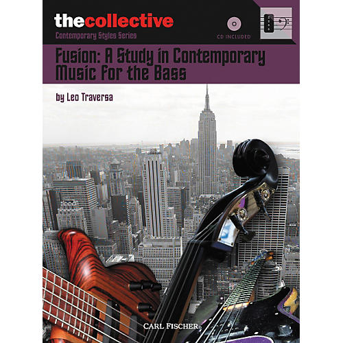 Carl Fischer Fusion: A Study in Contemporary Music for the Bass Book/CD