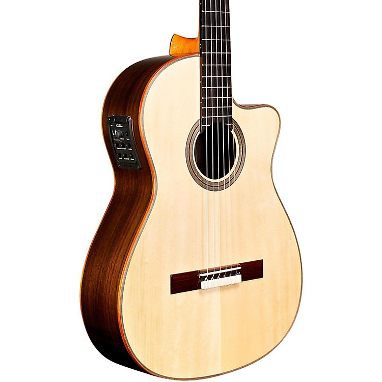 Cordoba Fusion Orchestra CE SP Classical Electric Guitar Natural