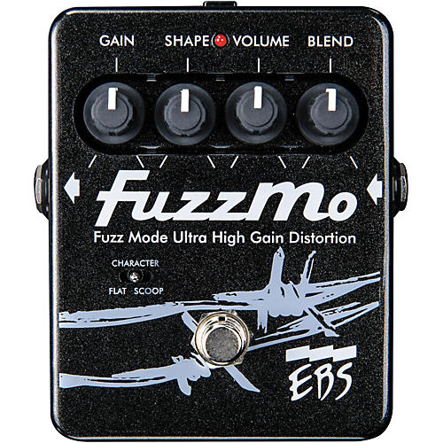 EBS FuzzMo Ultra High Gain Distortion Guitar Effects Pedal-thumbnail