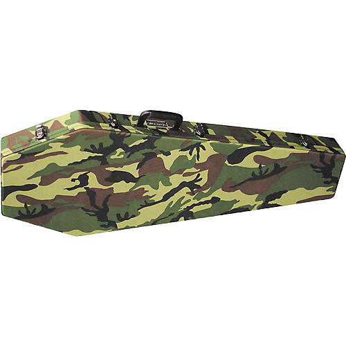 Coffin Case G-185 Camouflage Universal Electric Guitar Case