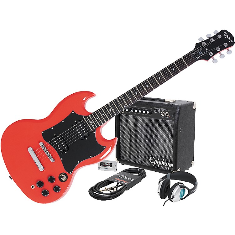 EpiphoneG-310 SG and All Access Amp Pack