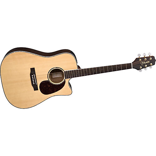 Takamine G Dreadnought EG530DLX Acoustic-Electric Guitar