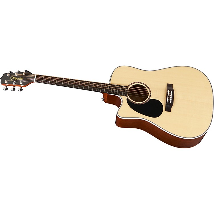 TakamineG Dreadnought EG530SC-LH Solid Top Lefty Acoustic-Electric Guitar