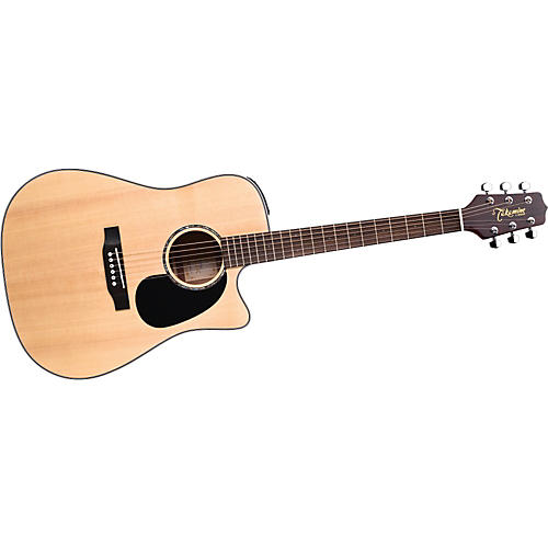 Takamine G Dreadnought EG530SC Solid Top Acoustic-Electric Guitar-thumbnail