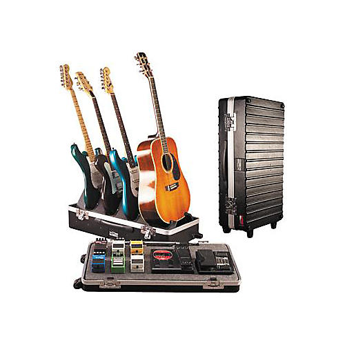 Gator G-Gig Box Original ATA Pedal Board with 4-Guitar Stand