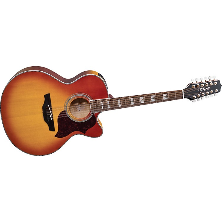 Takamine G Jumbo EG523CDX12 12-String Acoustic-Electric Guitar