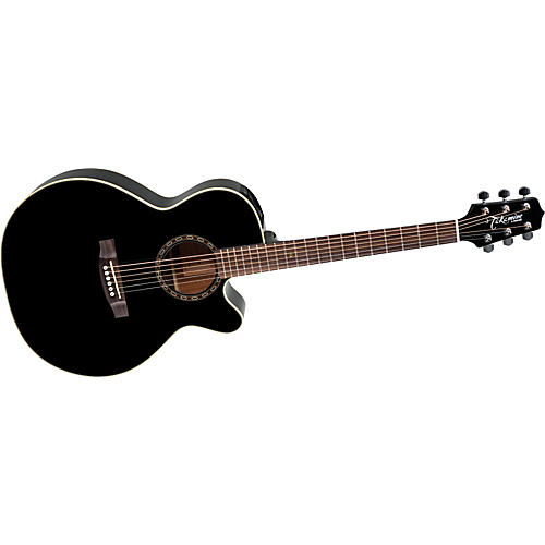 Takamine G NEX EG481SCX Black Chain Acoustic-Electric Guitar Gloss Black