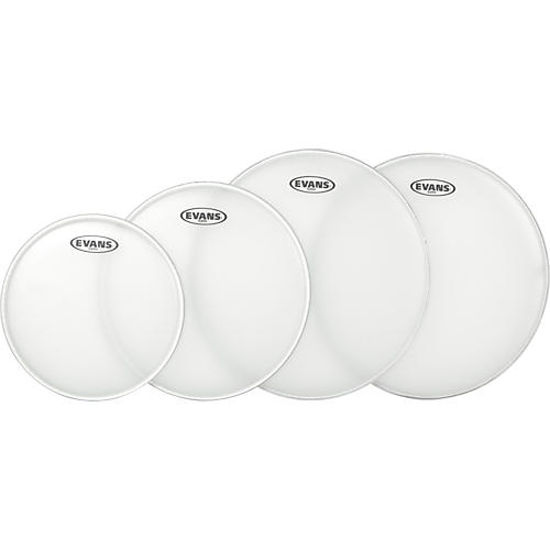 Evans G Plus Coated Fusion Drumhead Set with Free 14