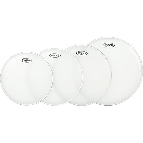 Evans G Plus Coated Standard Drumhead Set with Free 14