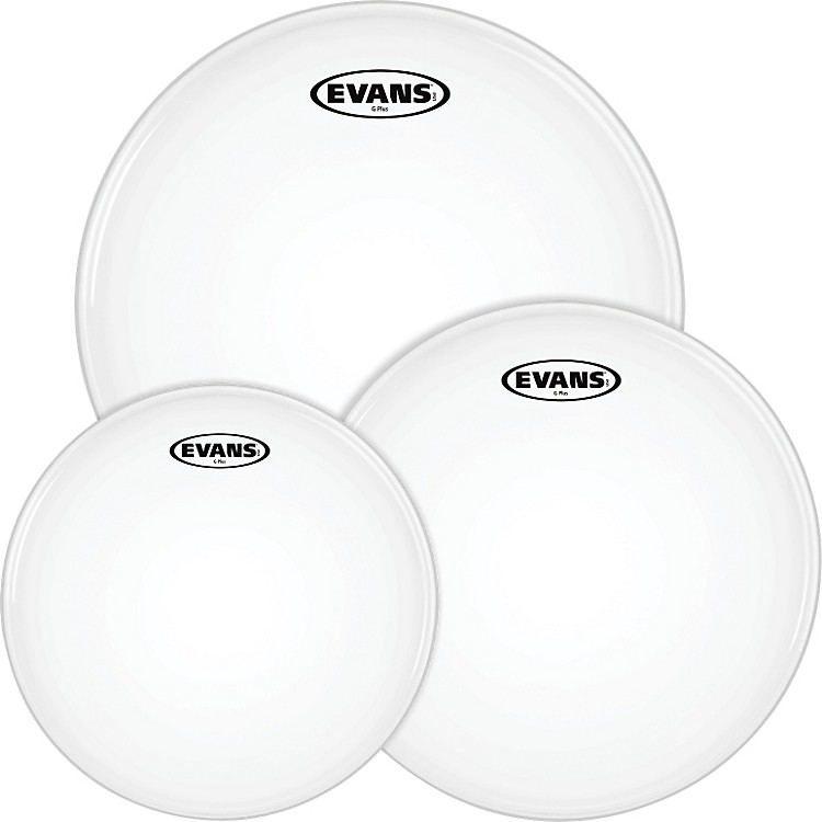 Evans G Plus Coated White Tompack