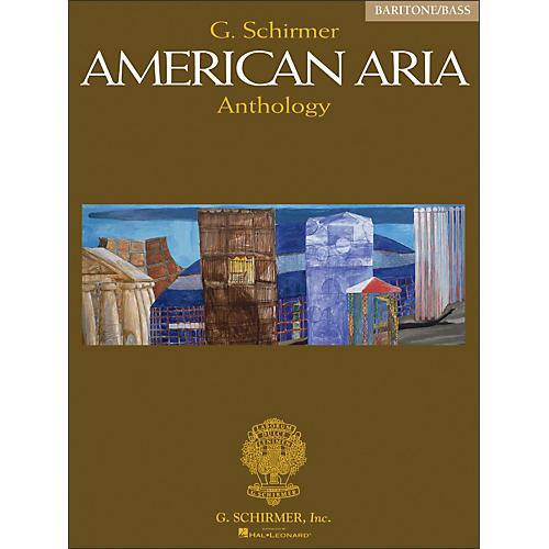 G. Schirmer G Schirmer American Aria Anthology Baritone / Bass Voice