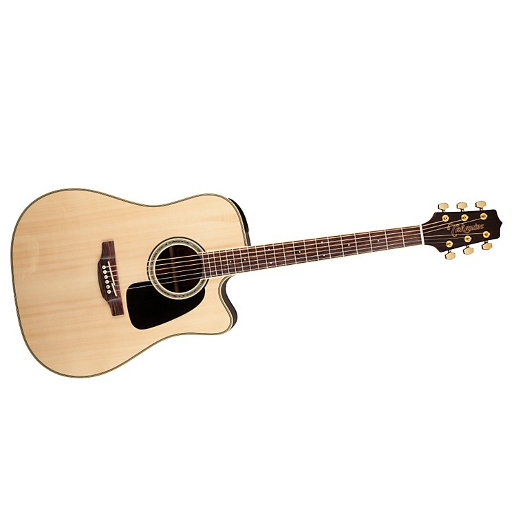 Takamine G Series Dreadnought Cutaway Acoustic-Electric Guitar Gloss Natural