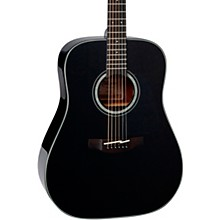Takamine G Series Dreadnought Solid Top Acoustic Guitar Gloss Black