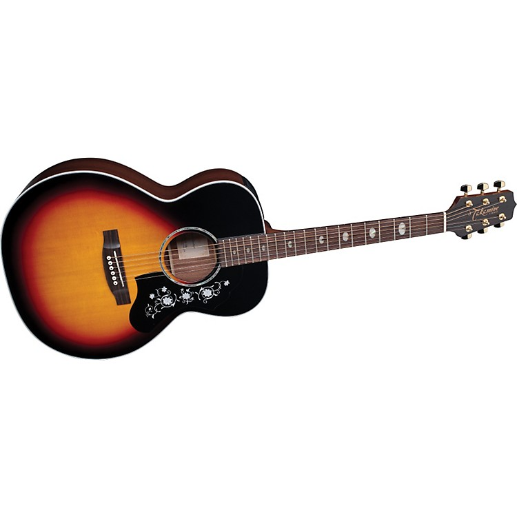 TakamineG Series EG450 Deluxe NEX Mahogany Acoustic-Electric Guitar