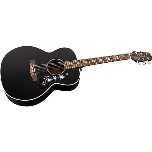 Takamine G Series EG451 Deluxe NEX Mahogany Acoustic-Electric Guitar-thumbnail