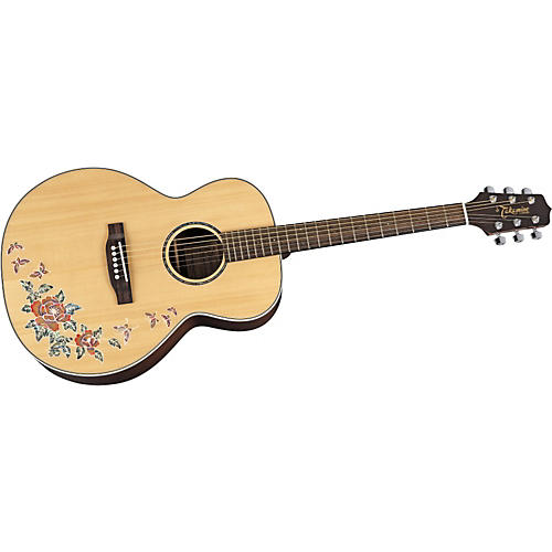 Takamine G Series G540S-BF NEX Butterfly Acoustic Guitar-thumbnail