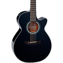Takamine G Series GF30CE Cutaway Acoustic Guitar Gloss Black