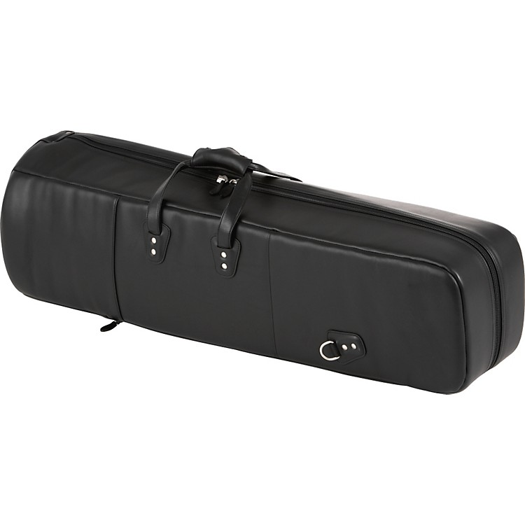 Reunion Blues G Series Leather Bass Trombone Case Ebony