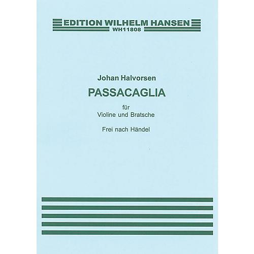 Music Sales G.F. Handel/Johan Halvorsen: Passacaglia In G Minor For Violin And Viola (Score/Pts) Music Sales America-thumbnail