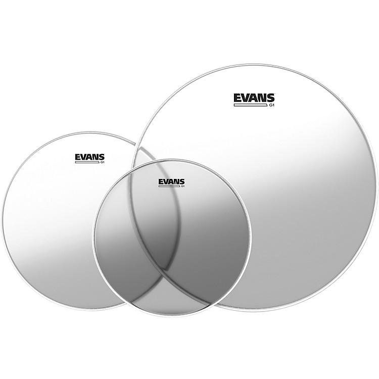 EvansG1 Clear Drumhead PackStandard - 12/13/16