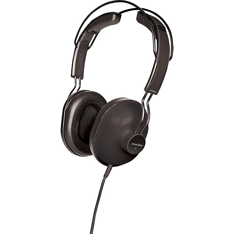 Gear One G100DX Isolation Headphones Black