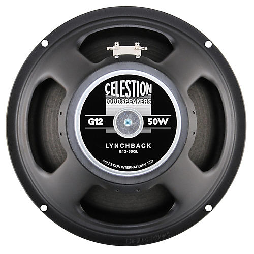 Celestion G12-50GL Lynchback George Lynch Signature Guitar Speaker 8 Ohm 50 W, 75 HZ