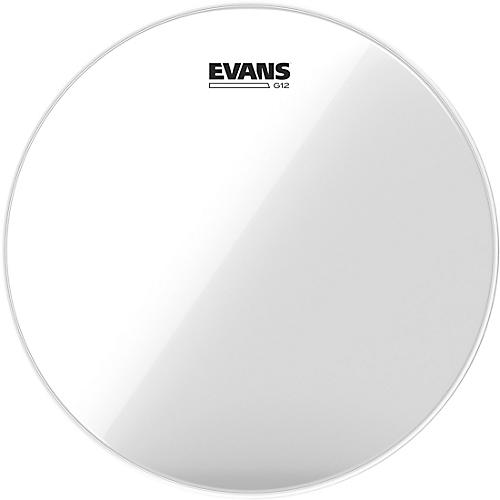 Evans G12 Clear Batter Drumhead-thumbnail