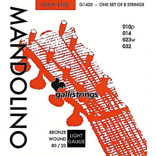 Galli Strings G1420 Bronze Wound MANDOLIN Strings