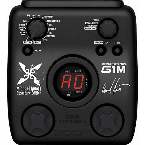 Zoom G1M Michael Amott Signature Guitar Multi-Effects Pedal