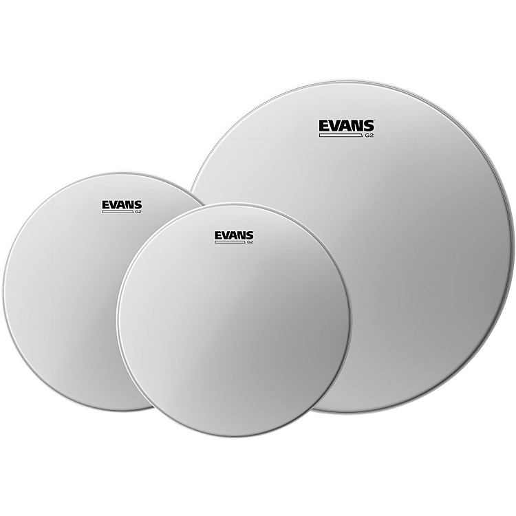 Evans G2 Coated Drumhead Pack Rock - 10/12/16