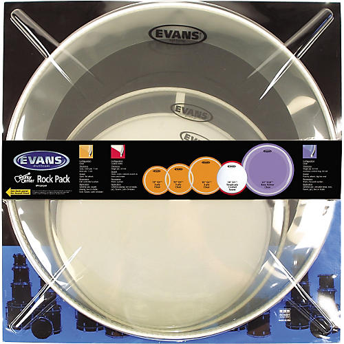 Evans G2 Drum Head Pack  Standard