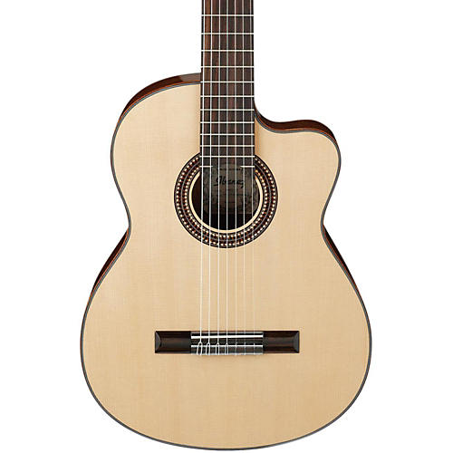 Ibanez G207CWCNT Solid Top Classical Acoustic 7-String Guitar-thumbnail