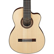 Ibanez G208CWCNT Solid Top Classical Acoustic 8-String Guitar Level 1 Gloss Natural