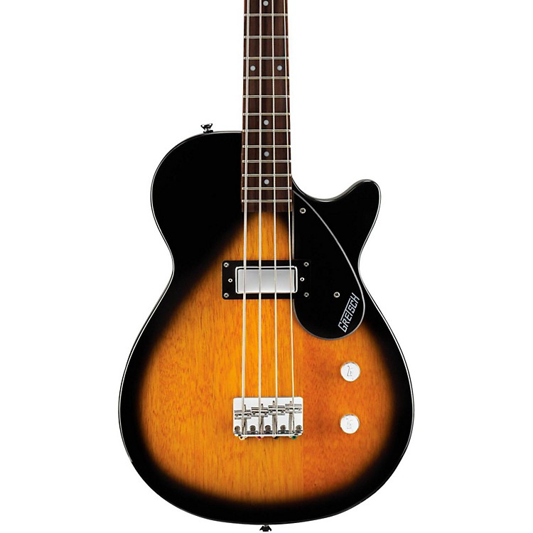 Gretsch Guitars G2210 Electromatic Junior Jet Electric Bass Guitar Tobacco Sunburst