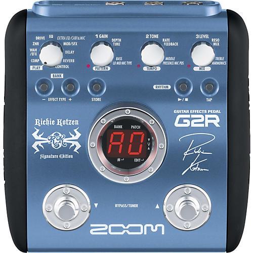 Zoom G2R - Richie Kotzen Signature Edition Multi-Effects Pedal-thumbnail