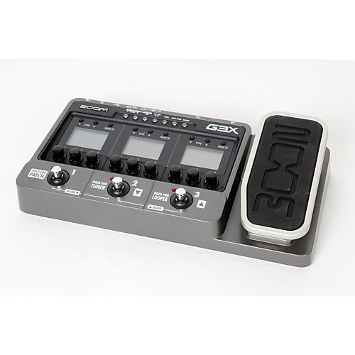 zoom g3x guitar effects amp simulator pedal regular 888365823652 musician 39 s friend. Black Bedroom Furniture Sets. Home Design Ideas