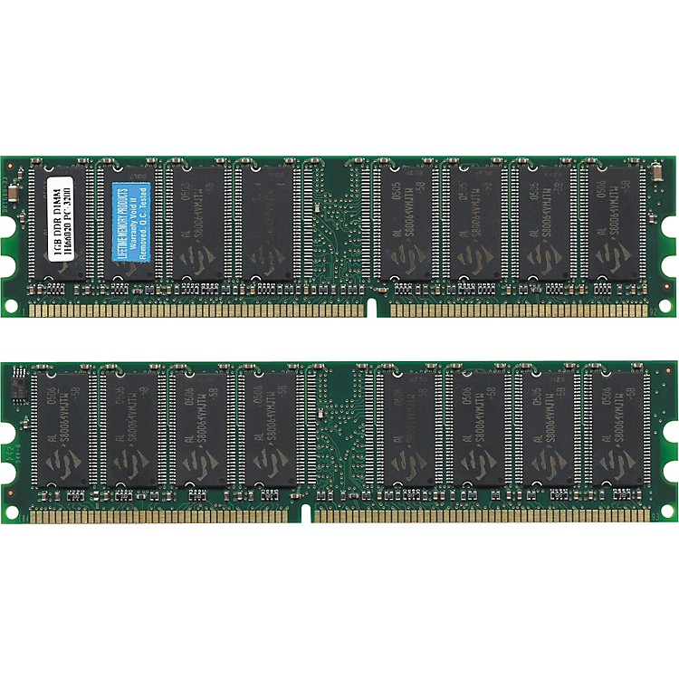 Lifetime Memory ProductsG5 iMAC Memory PC3200 400MHz DDR SDRAM1GB