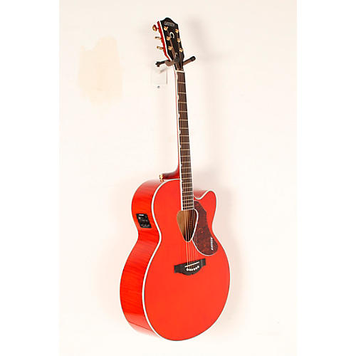 Gretsch Guitars G5022CE Rancher Jumbo Cutaway Acoustic-Electric Guitar Western Orange Stain Rosewood Fretboard