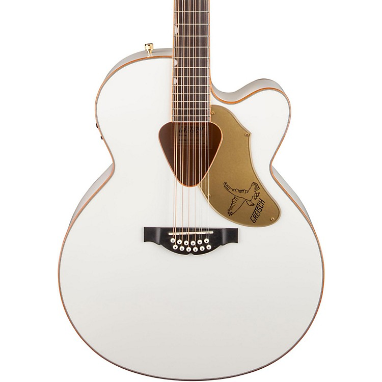 Gretsch G5022CWFE-12 Rancher Falcon Jumbo 12-String Acoustic-Electric Guitar White