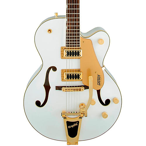 gretsch guitars g5420t electromatic hollow body electric guitar snow crest white musician 39 s friend. Black Bedroom Furniture Sets. Home Design Ideas