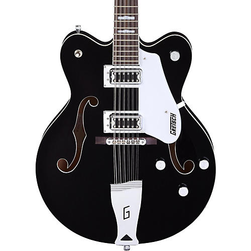 Gretsch Guitars G5422DC-12 Electromatic 12-String Hollowbody Guitar Black