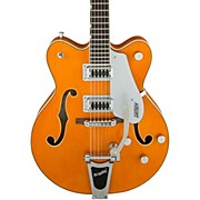 G5422T Electromatic Double Cutaway with Bigsby Hollowbody Electric Guitar Amber Stain