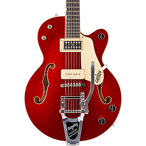 Gretsch Guitars G6115T-LTD15 Limited Edition Red Betty Center Block Junior Candy Apple Red on Pearl White Ebony Fingerboard