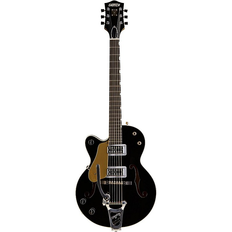 Gretsch Guitars G6118TLH-LTV 130th Anniversary Junior Left-Handed Electric Guitar Black