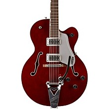 Gretsch Guitars G6119T Tennessee Rose with Bigsby Hollowbody Electric Guitar Dark Cherry Stain